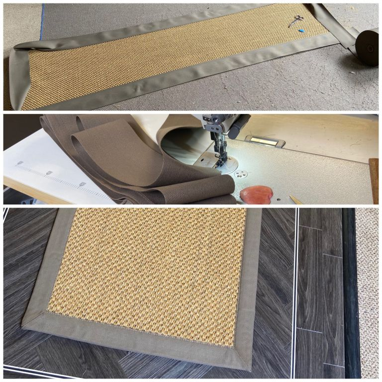 Carpet Whipping Before and After