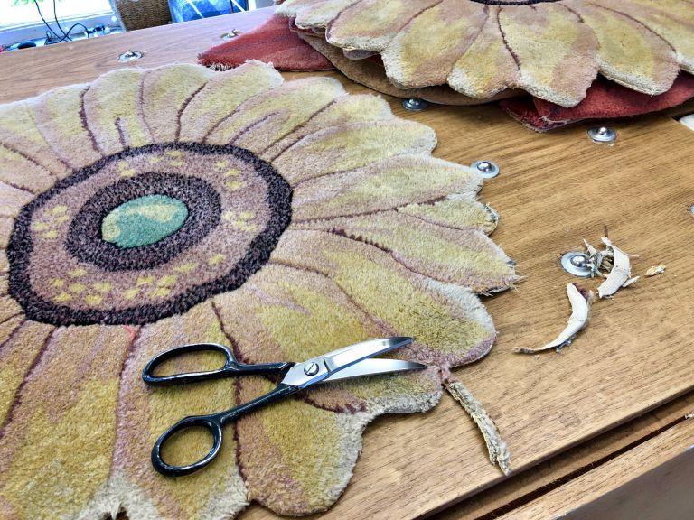 Carpet Binding & Whipping Process