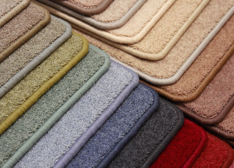 Examples of Coloured Carpet Whipping