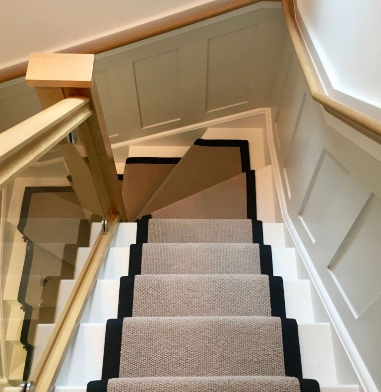 Stair Runner with Edging